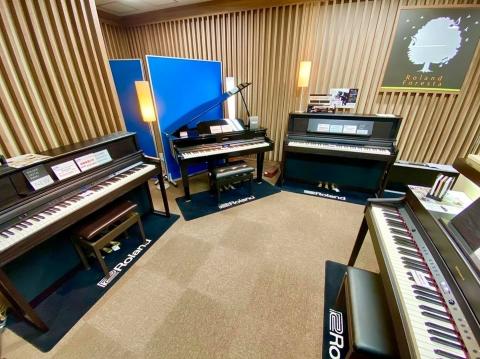 ピアノ売り場2021夏